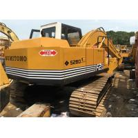 Wholesale S260-F2 Second Hand Excavators , Sumitomo Hydraulic Crawler Excavator from china suppliers