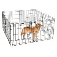 Wholesale Rust Resistant Large Outdoor Dog Run , Wire Steel Dog Pen 3.0m Length from china suppliers