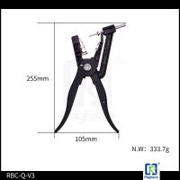 Wholesale Black Colour Ear Tag Pliers Applicator For All Two Pieces Tags Energy Saving from china suppliers