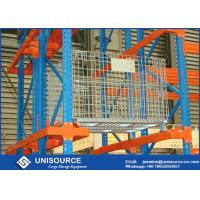Wholesale Industrial Large Steel Wire Cage Lockable Zinc Coated For Storage Racking System from china suppliers