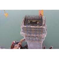 China Hanjiatuo Changjiang Bridge (Chongqing, China)-Climbing Formwork QPMX-50 、GJ-190 、PJ-200 for sale