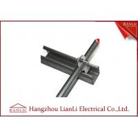 Hot Dip Galvanized C Type Steel Strut Channel Fittings 41*41 41*21 , 1.5mm to 2.5mm Thickness