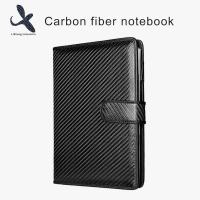 China LS Manufacturer Fashionable 100% Real Carbon fiber notepad for sale
