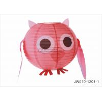"Wholesale Pink Blue Angry Cute  Birds Kids Paper Lanterns , 10"" 12"" Animal Print Hanging Paper Lanterns from china suppliers"