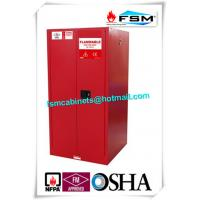 Best 60 Gallon Industrial Paint Storage Cabinets Steel For Flammables And Combustibles wholesale