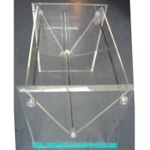 China Acrylic Magazine Rack (MR-A-0043) for sale