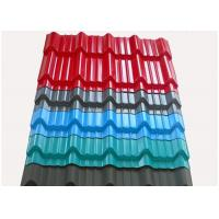 Wholesale Color Coated Roofing Sheets , Corrugated Metal Roofing Sheets Width Length Customized from china suppliers