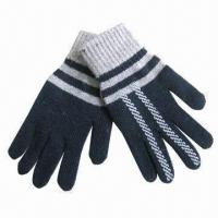 Wholesale Angora and wool mixed knitted magic gloves, small orders are welcome from china suppliers