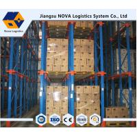Wholesale High Density Drive Through Pallet Racking Industrial Steel Storage Racks from china suppliers