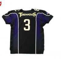 Wholesale Short Sleeve America Football Jersey Sport Training Comfortable Dry Fit Shirt from china suppliers