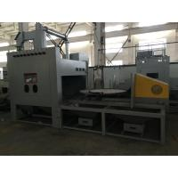 Quality Pressure Dust Free Sandblasting Machine Turntable Automatic Working Cabinet for sale