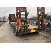 Wholesale Heavy Duty Used Construction Machinery HOWO Truck Tractor With Flatbed Trailer Transportation from china suppliers