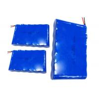 Wholesale Custom Searchlight High Capacity Lithium Ion Battery With Blue PVC Wrap from china suppliers