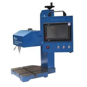 300w Pneumatic Marking Machine , Small Workpieces Hand Held Etching Machine