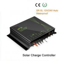 Wholesale Waterproof , moistureproof solar charge controller 12V / 24V 10A / 20A for street light and portable system from china suppliers