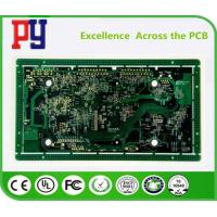 China 10 layer Rigid PCB Circuit Board 1.6 fr4 1oz  Multilayer circuit board gold for sale
