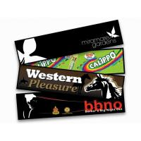 China Customized Printed Polyester Fabric Rubber Bar Mat For Advertising on sale