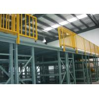 Powder Coated Multi Tier Mezzanine Rack High Space Utilization