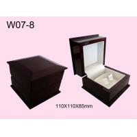 Quality Decorative Jewelry Packaging Boxes Oval Shape Metallic Logo for sale
