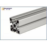 Wholesale Anodizing T / V Slot Industrial Aluminium Profile 50mmX50mm Size Silver Color from china suppliers
