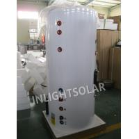 Residential Building Solar Heated Water Tank With Color Coated Galvanized Steel Outer Tank for sale