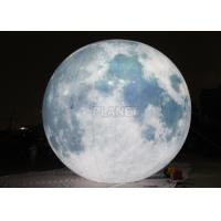 Wholesale Giant Lighting Inflatable Moon Globe 6 M Dia PLL - 145 Long Lifespan from china suppliers