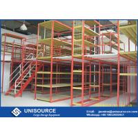 Wholesale Multi Level Warehouse Storage Racking Supported Steel Mezzanine Floor from china suppliers