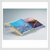 China Large and Extra-wide Acrylic Desktop Book Displayers for sale