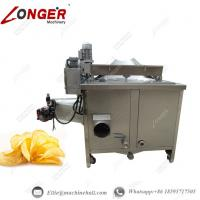 Wholesale Potato Chips Frying Machine|Automatic Potato Chips Fryer|Potato Chips Frying Manufacture|Industrial Potato Chips Fryer from china suppliers
