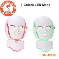 China Good effect!7 color led light therapy facial mask/pdt facial mask price for sale