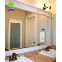 2-6mm Thickness Anti Corrosion Silver Wall Mirror Bevelled Edge For Washstand for sale