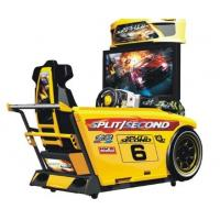 "Wholesale Speed Car Racing Arcade Machine Metal Material High Resolution With 42 "" LCD Screen from china suppliers"