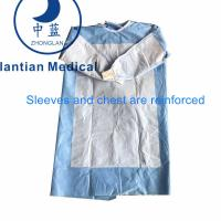 China Surgical Gown Reinforced|Disposable Reinforced Gown Manufacturer for sale