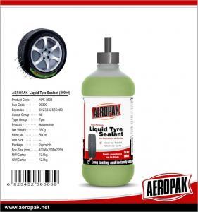 Quality 500ML AEROPAK Tire Liquid Sealant for sale