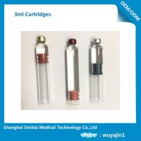 Wholesale 1.8ml , 2ml , 3ml Glass Insulin Pen Cartridge With CFDA / CE Certificate from china suppliers