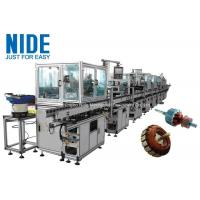 China RAL9010 Electric Motor Production Line Armature Auto Winding Machine for sale