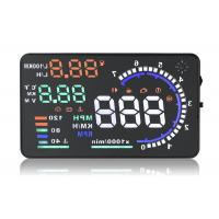 A8 5.5 Inch Hud Head Up Display , Working Voltage 12V Dc Portable Heads Up Display