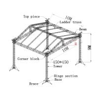 Cheap 450x450mm aluminum truss system, aluminum spigot truss for outdoor show for sale