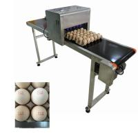 Egg Jet Coding Machine / Industrial Inkjet Coding Printer For Expiration Date