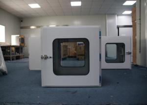 Wholesale Common Transfer Window 230V/50HZ Pass Through Box Clean Room Powder Coated Steel from china suppliers