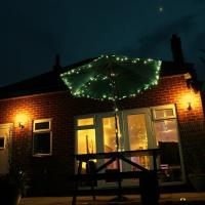 21m 200LED Warm white outdoor Solar powered LED tree string Light