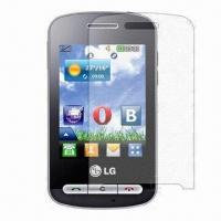 Buy cheap Pet Film, Mobile Screen Guard with Scratch Resistance and 93% Transparency, Made from wholesalers