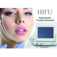 Non Invasive Hifu Ultrasound Facelift Machine Skin Tightening Removing Neck Wrinkles for sale
