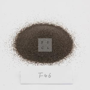 Wholesale F46 1950C Brown Aluminum Oxide Msds Refractory Materials from china suppliers