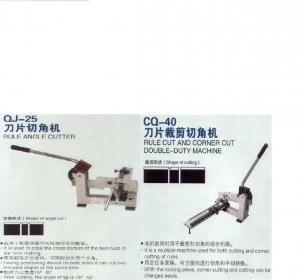 Best Auto Bender Machine / Manual Rule Cutting Machine Double Side Cut wholesale