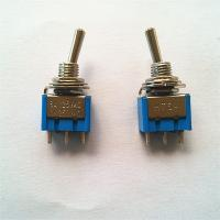 Wholesale Miniature Toggle Switch,2/3P,ON-ON(SPDT),Rohs from china suppliers