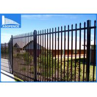 Powder Painted Security Mesh Panels , Q235 Welded Wire Panels For Boundary Wall