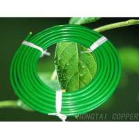 China PE-Coated Copper Tube is mainly used for fluid transmission of cool and hot water and drinking water on sale