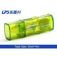 Quality Titanium Dioxide 4M Green Mini Correction Tape For Student Stationery for sale