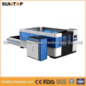Mild steel , aluminium , brass and copper fiber cnc laser cutting machine